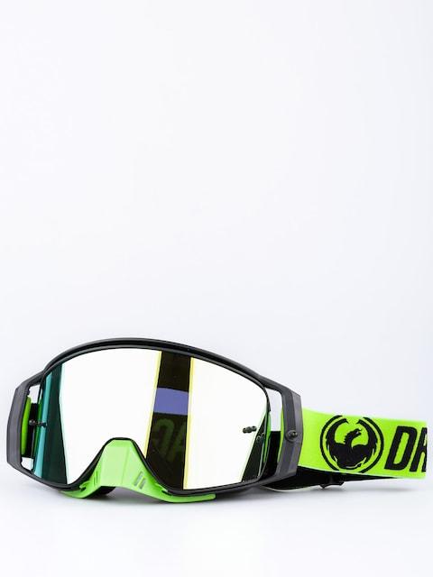 Dragon Motocross Goggle NFX2 (break green/smoke gold ionized)