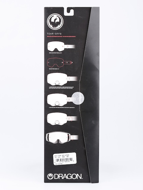Dragon Spare lens MDX2 (tear off 10 pack)