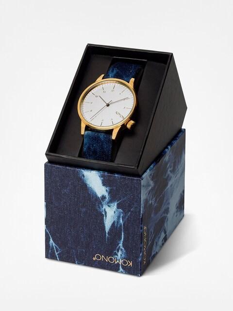 Komono Armbanduhr Winston Heritage (indigo denim)