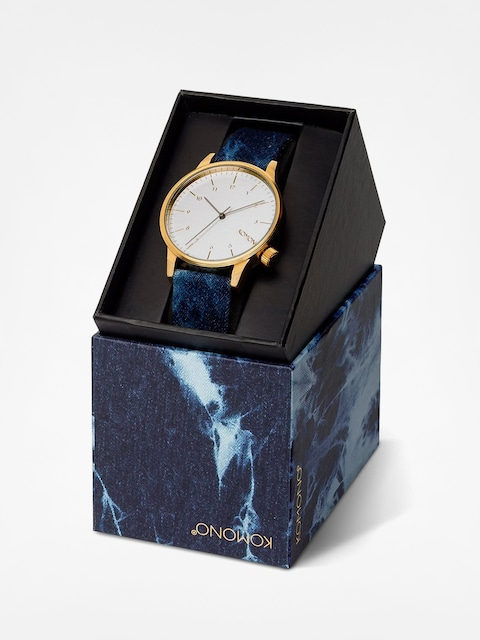 Komono Watch Winston Heritage (indigo denim)