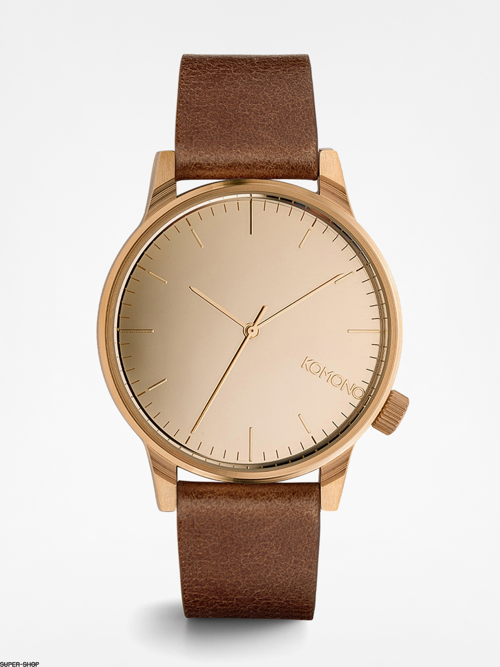 Komono Watch Winston Mirror (rose/gold/cognac)