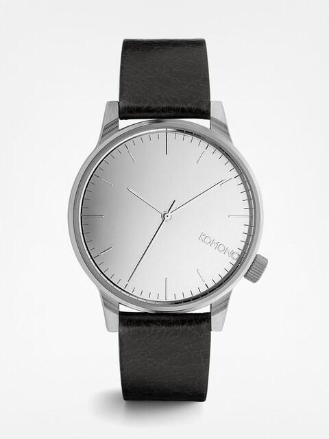 Komono Armbanduhr Winston Mirror (silver/black)