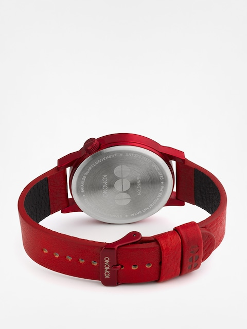 Komono Uhr Winston Regal (all red)