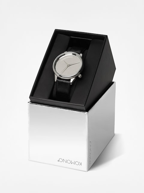 Komono Watch Estelle Mirror Wmn (silver/black)