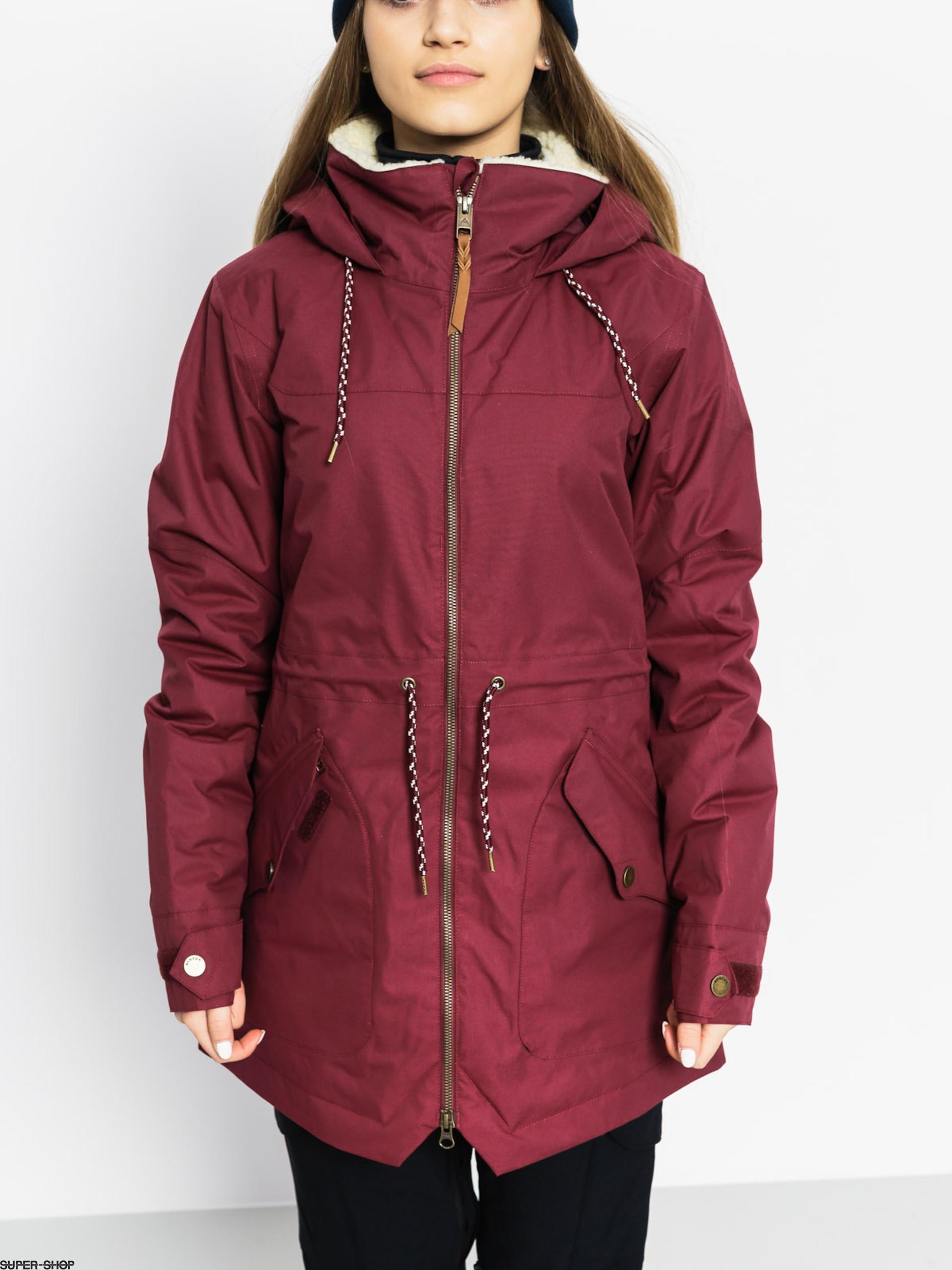 Burton Snowboard Jacket Prowess Wmn Sangria