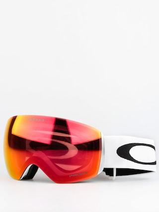 Oakley Goggles Flight Deck (matte white w/prizm torch)