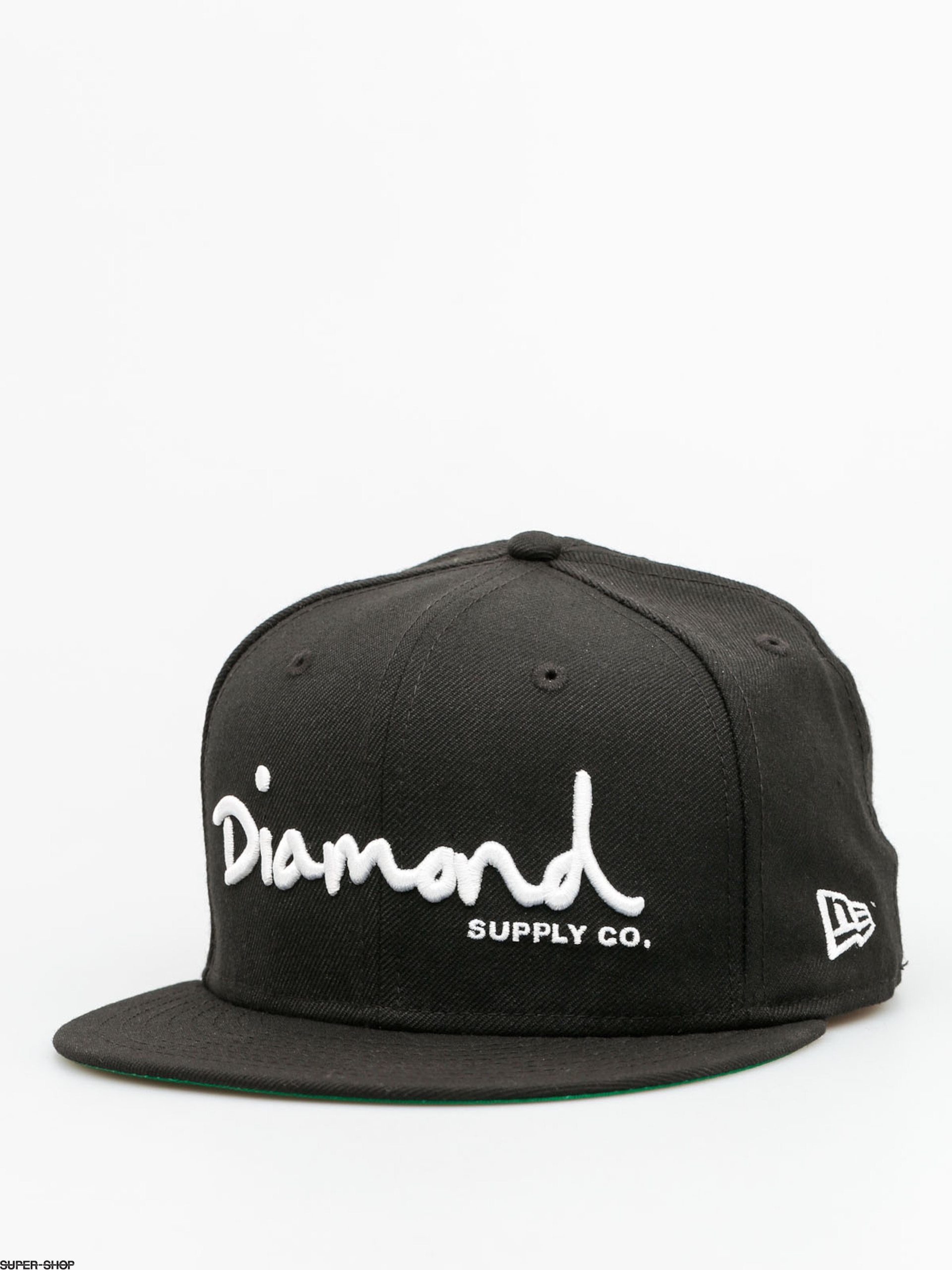 Diamond Supply Co. Cap Og Sript Fitted ZD (black)