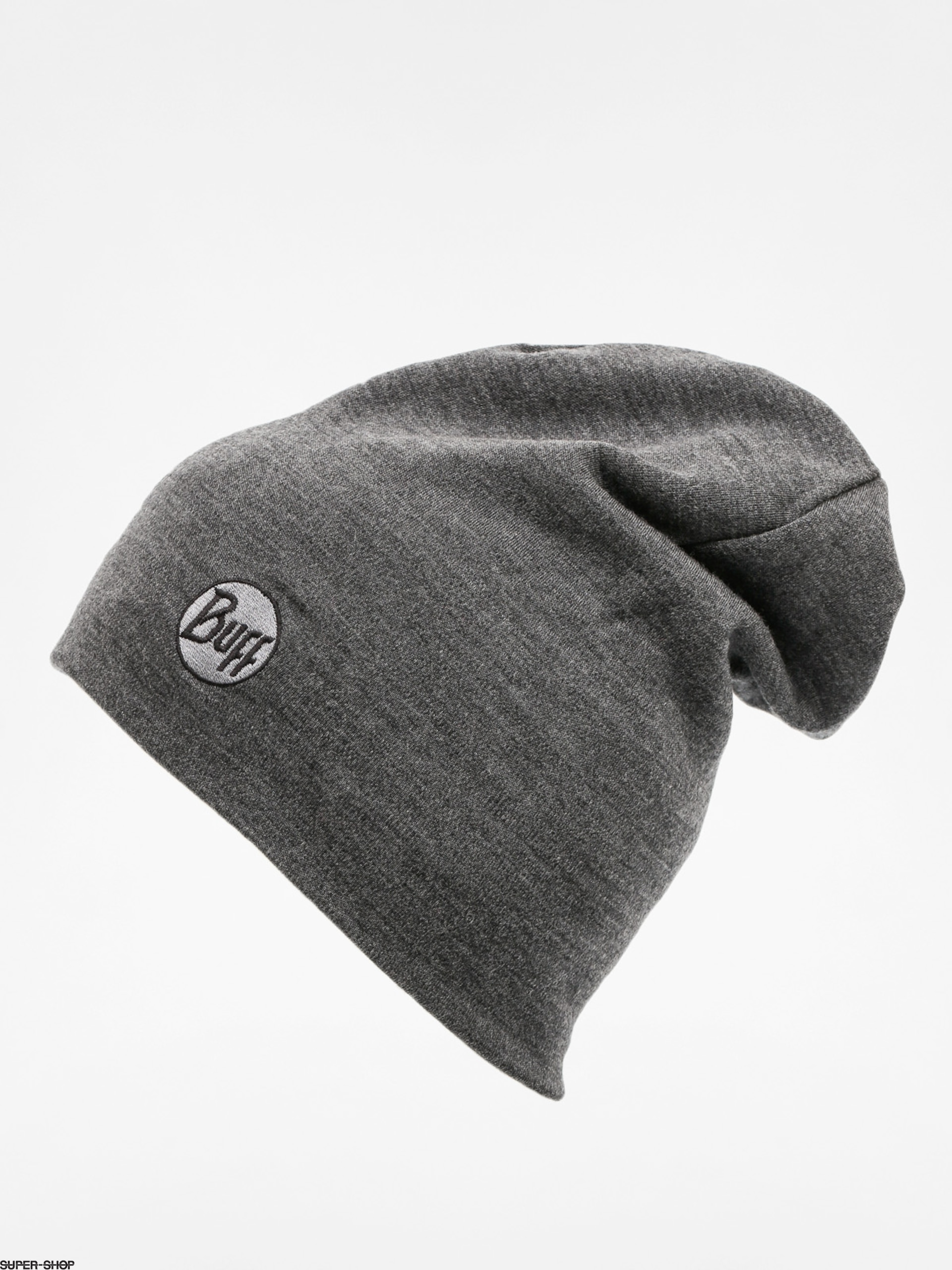 13c08a13eaa Buff Beanie Merino Wool Thermal (solid grey)