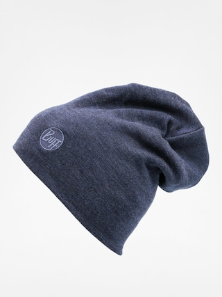 Buff Beanie Merino Wool Thermal (solid denim)
