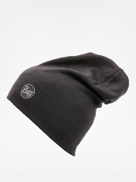 Buff Mütze Heavy Merino Wool (solid black)