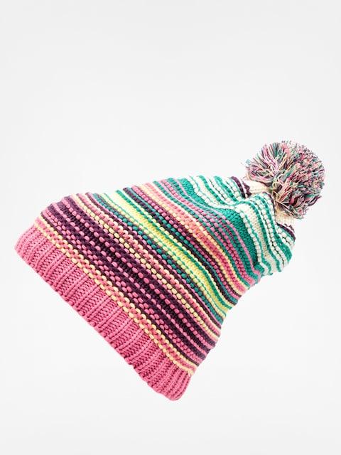 Buff Beanie Knitted & Polar (neper magenta)