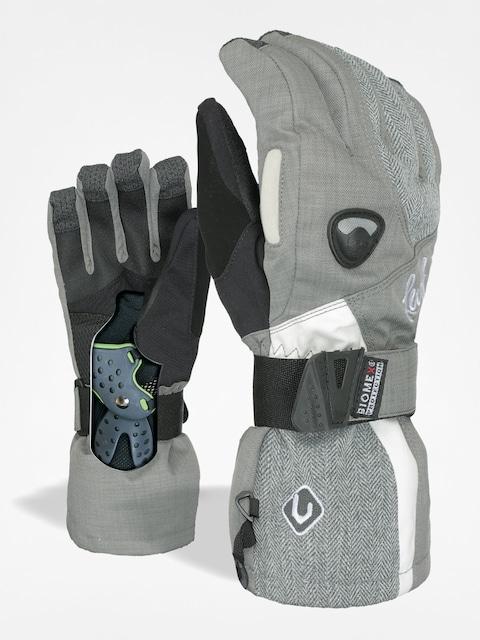 Level Gloves Butterfly Wmn (tartan grey)