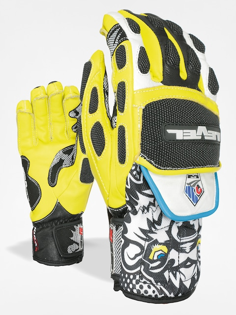 Level Gloves Worldcup CF (black/yellow)