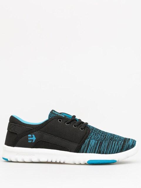 Etnies Schuhe Scout YB Wmn (black/blue)