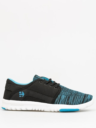 Etnies Shoes Scout YB Wmn (black/blue)