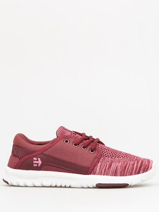 Etnies Shoes Scout YB Wmn (burgundy)
