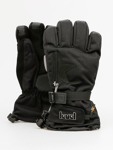 Level Handschuhe Star Wmn (black)