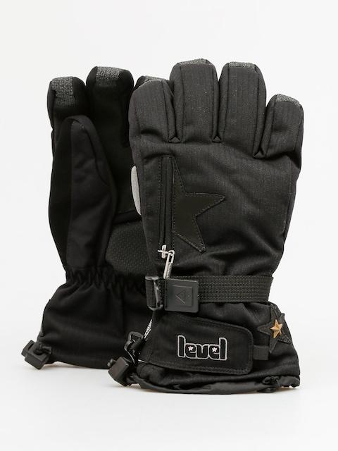Level Handschuhe Star Wmn (black)