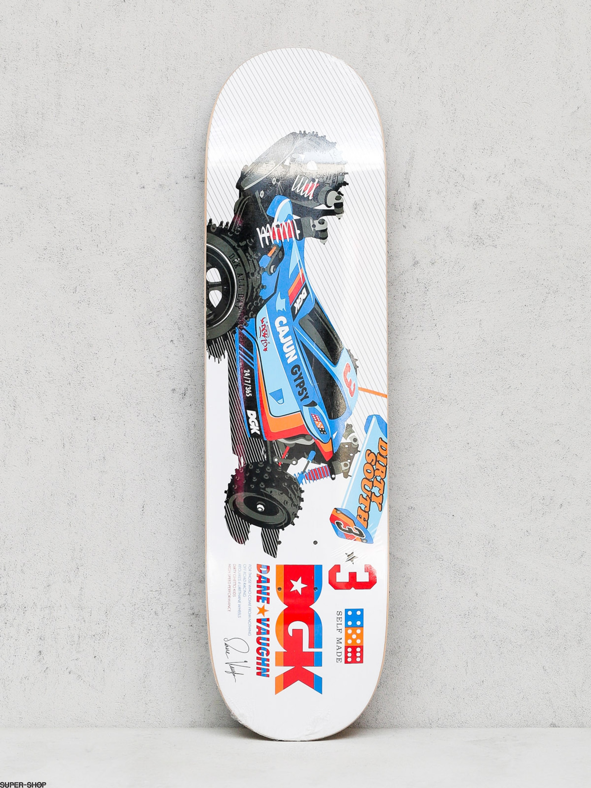 DGK Deck Dane Vaughn Hopper (white)