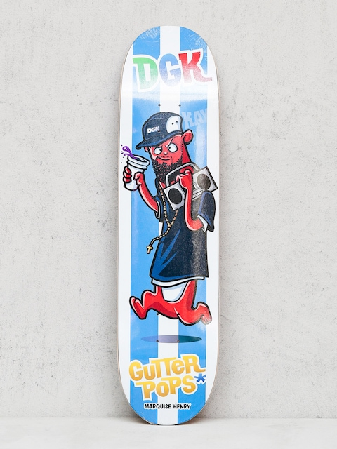DGK Deck Henry Gutter Pop (white/blue)