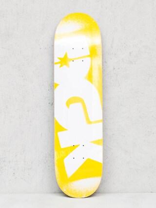 DGK Deck Price Point (yellow/white)