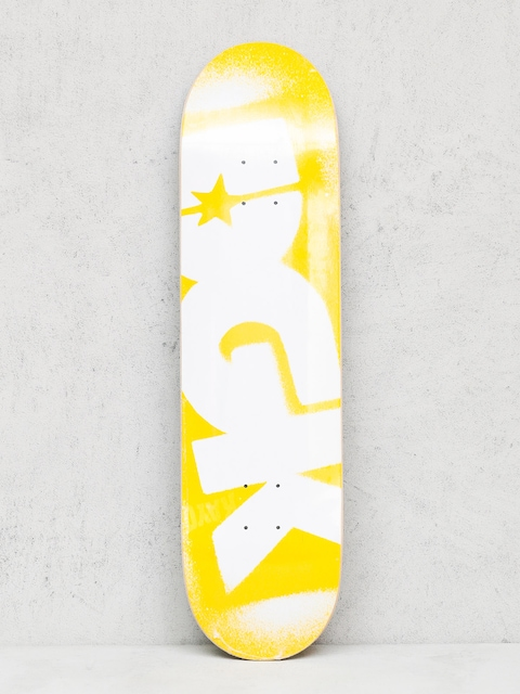 DGK Deck Price Point (yellow/white)