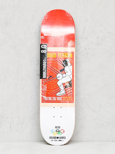 Boulevard Deck Petersen Olympic (red/white)