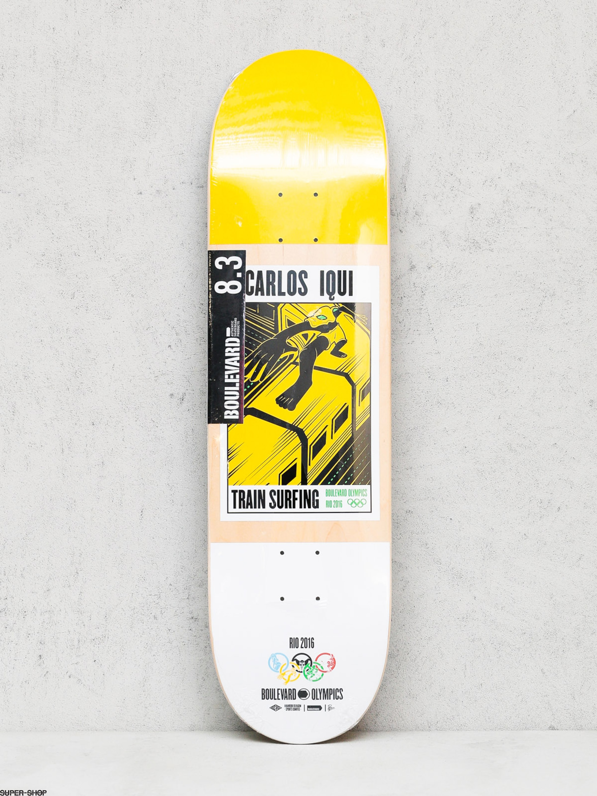 Boulevard Deck Iqui Olimpic (yellow/white)