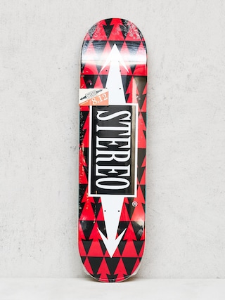Stereo Deck Arrow Pattern (red)
