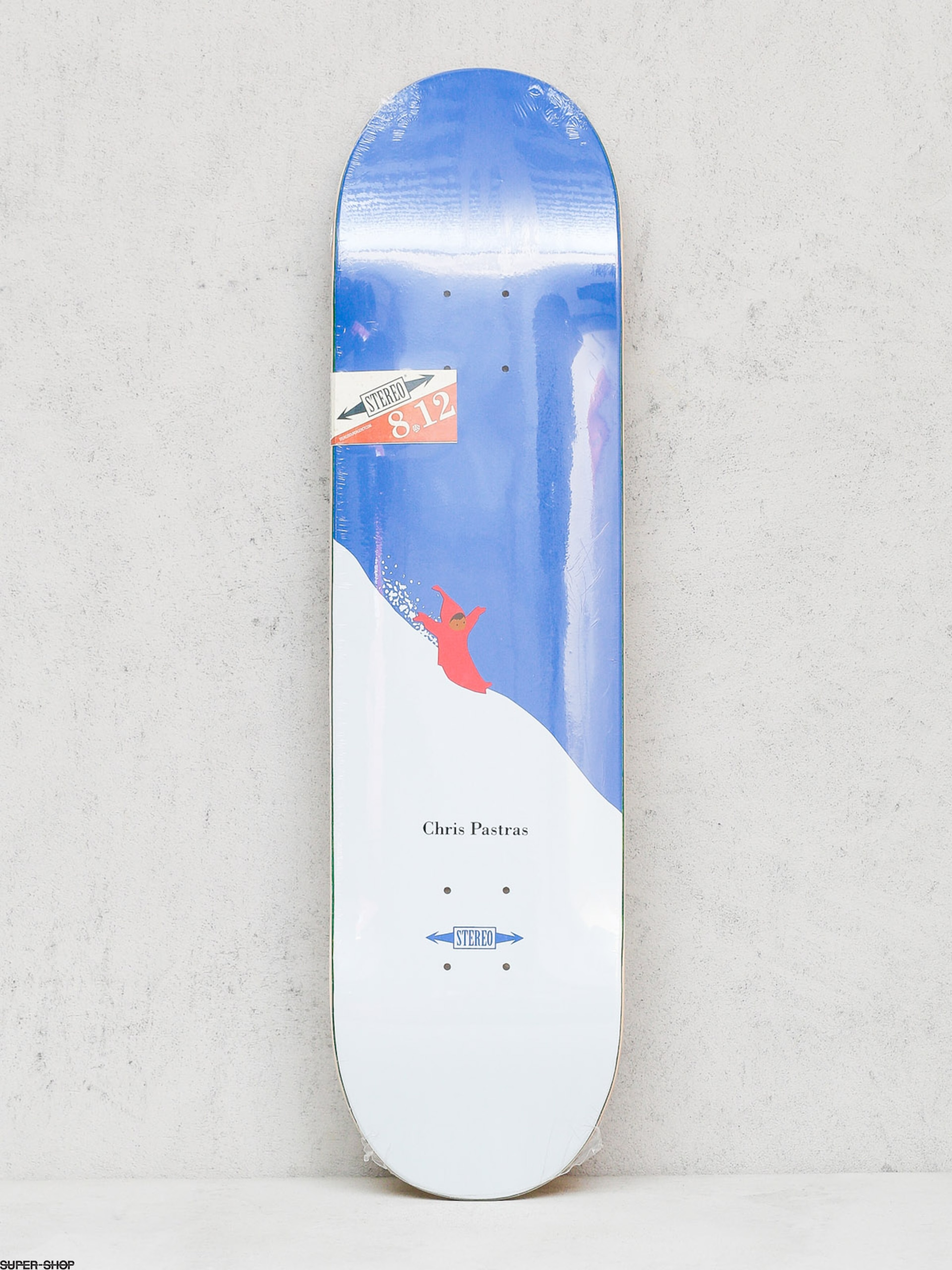 Stereo Deck Chris Pastras Snow Day (blue/white)