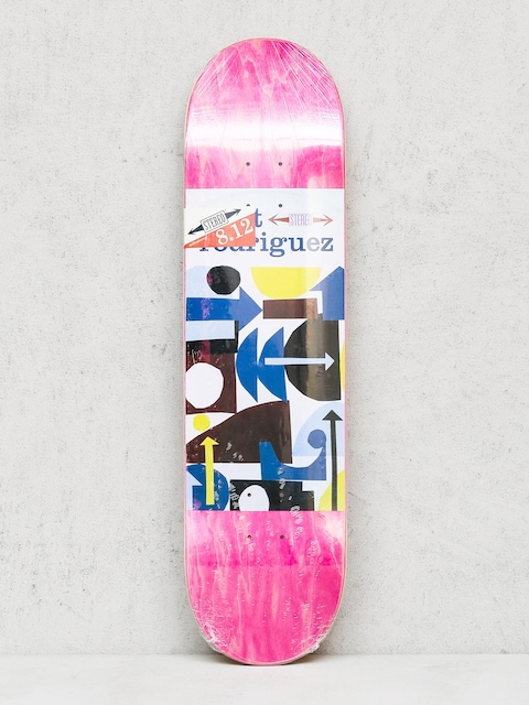Stereo Deck Rodriguez Collage (pink/white)