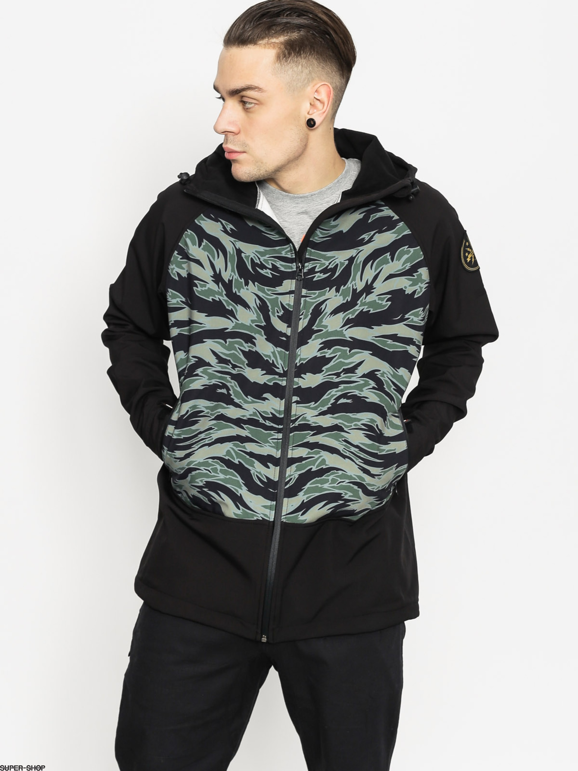Majesty Snowboard jacket Scout Softshell (tiger/camo)