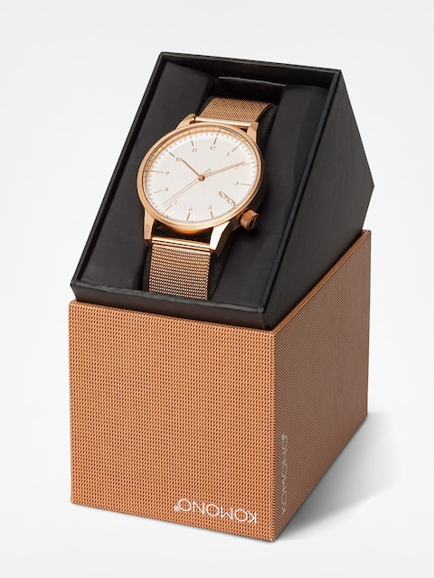 Komono Uhr Winston Royale (rose gold/white)