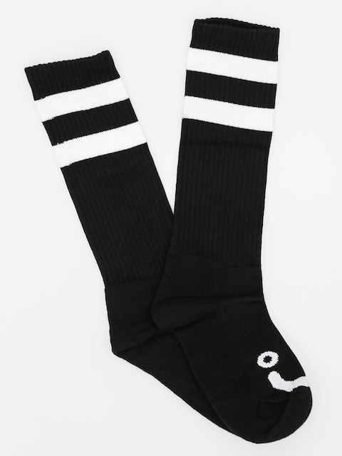 Polar Skate Socks Happy Sad Classic (black)