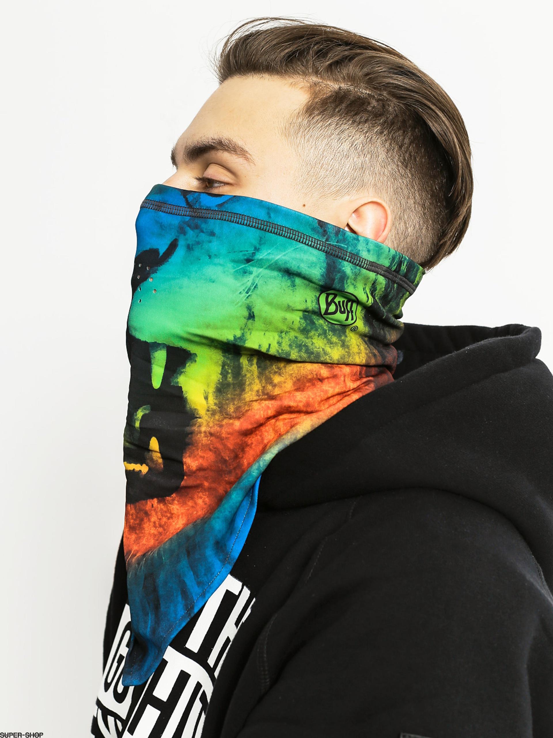Buff Bandana Tech Fleece Lion Multi Outwear