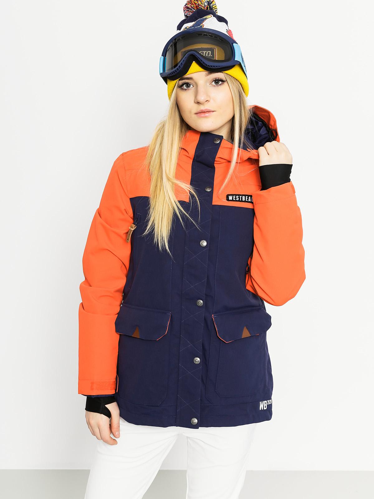 Womens Westbeach Snowboard jacket Brook (marine)