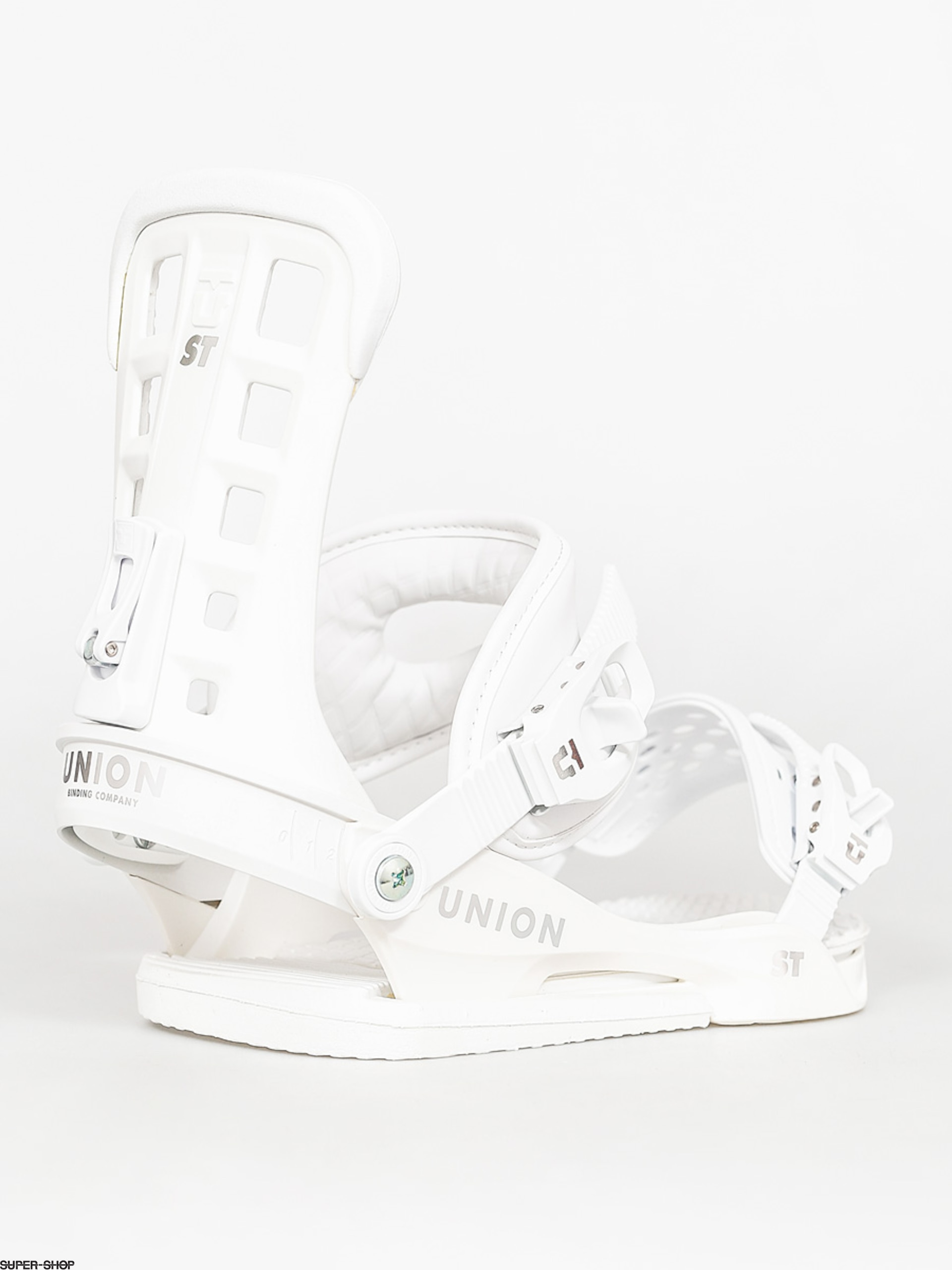 Union Snowboard bindings ST (white)