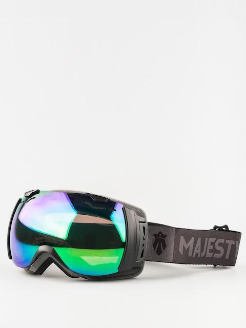 Majesty Goggles Spectrum (matt black/green emerald mirror/clear citrine)