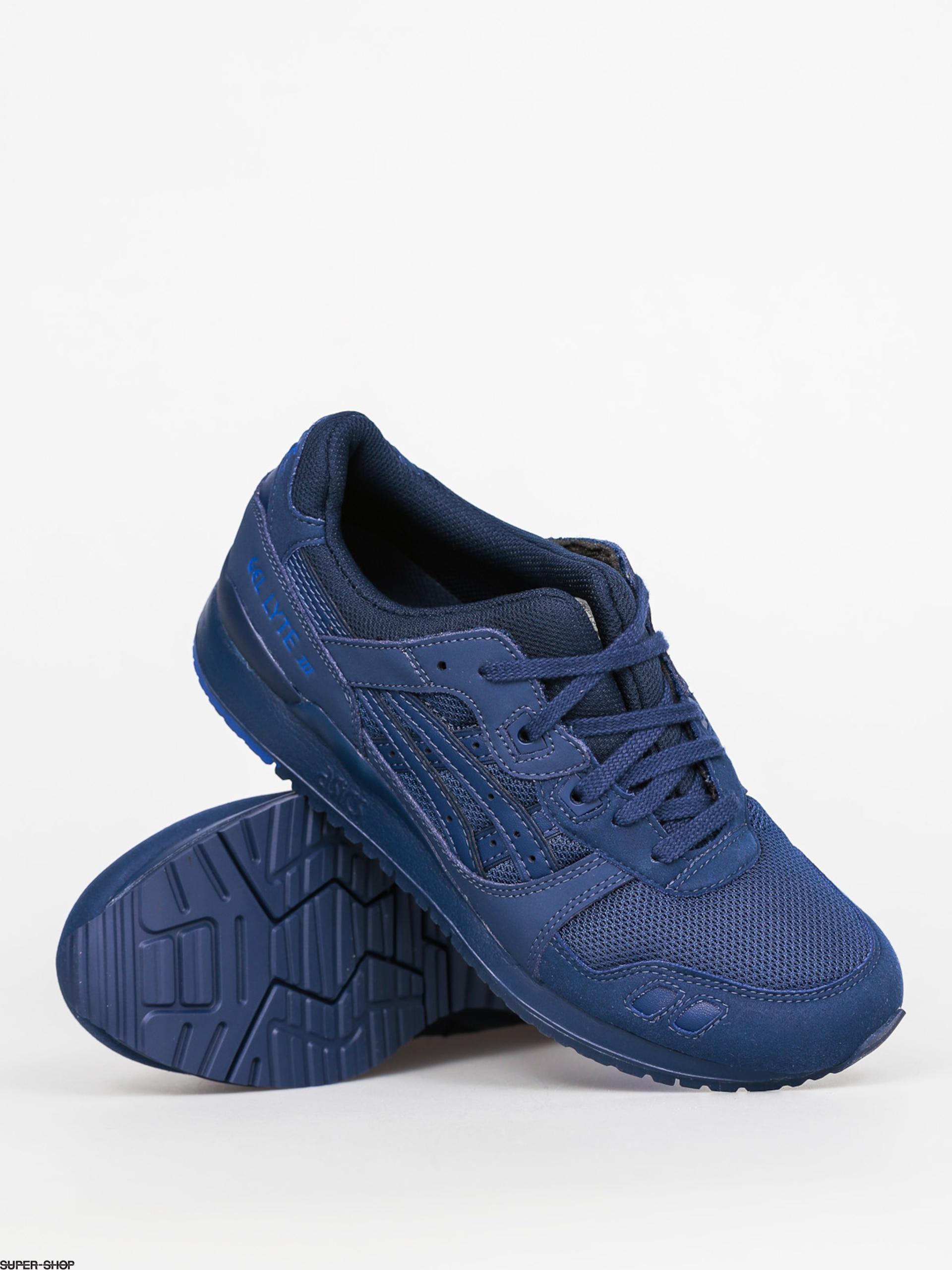 the best attitude 2a9a7 9b50e Asics Shoes Gel Lyte III (indigo blue/indigo blue)