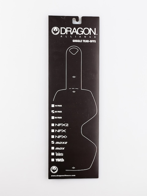 Dragon Spare lens MDX2 (tear off 20 pack)