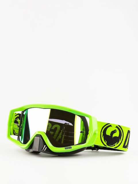 Dragon Cross goggles Vendetta (3 w/teart off/break green/smoke gold 10pkto)