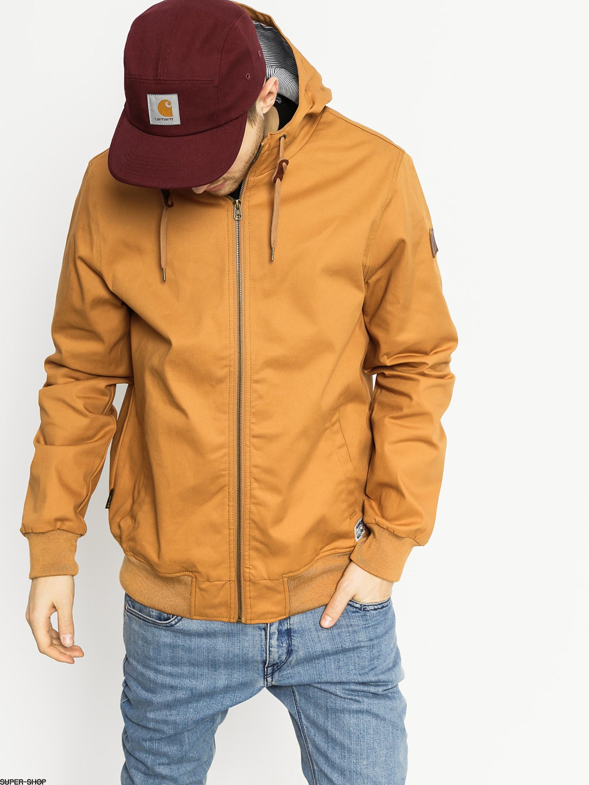 ELEMENT DULCEY HERREN Jacke Übergangsjacke rust brown C1JKA9