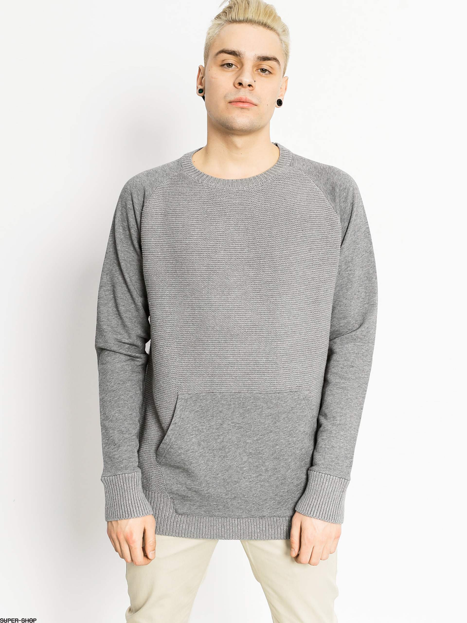 Element Sweater Olson Crew (grey heather)