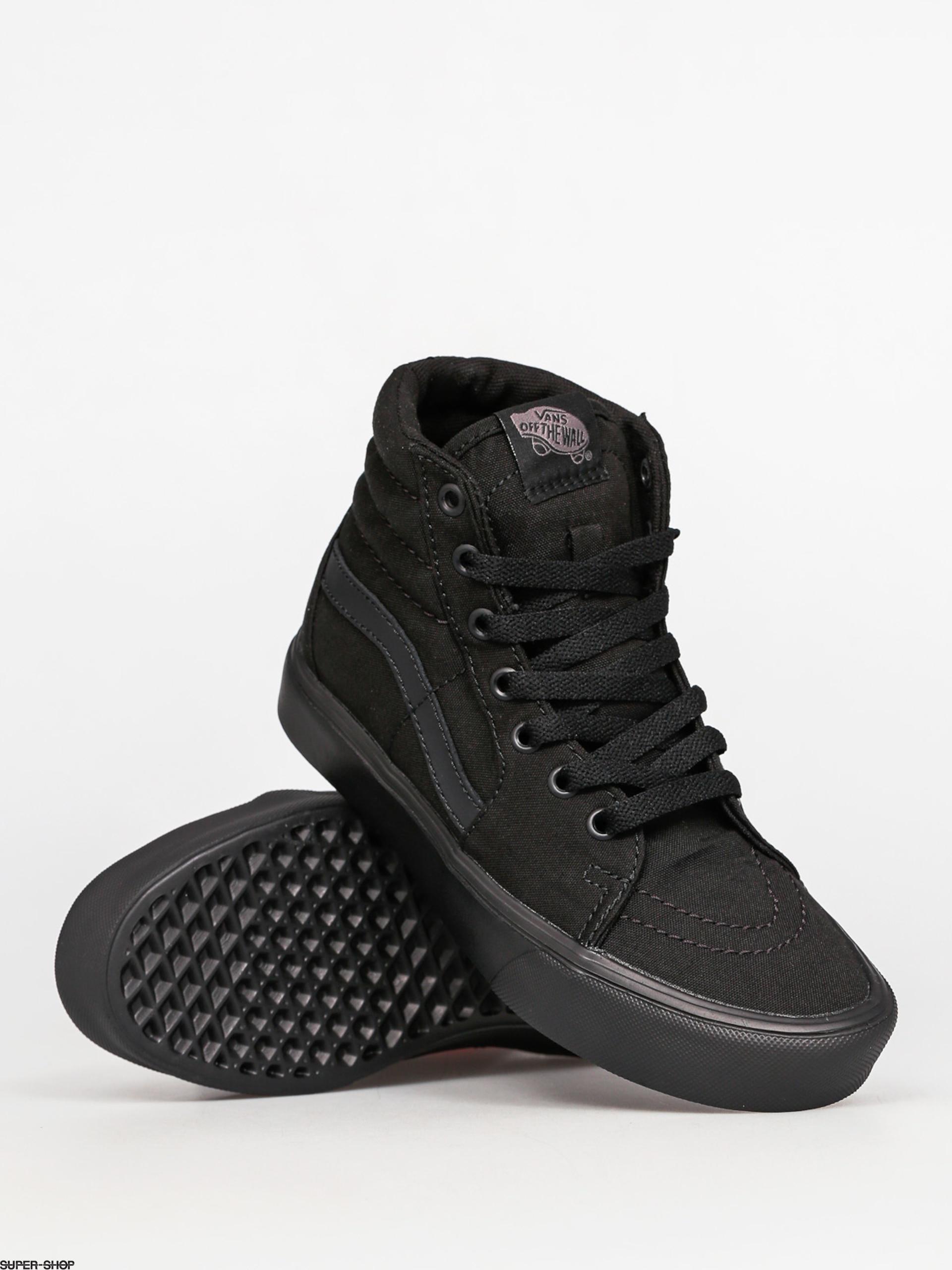 8f36dbce04839 Vans Shoes Sk8 Hi Lite (canvas black black)