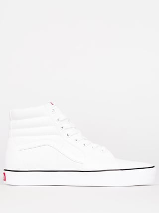 Vans Shoes Sk8 Hi Lite (canvas/true white)