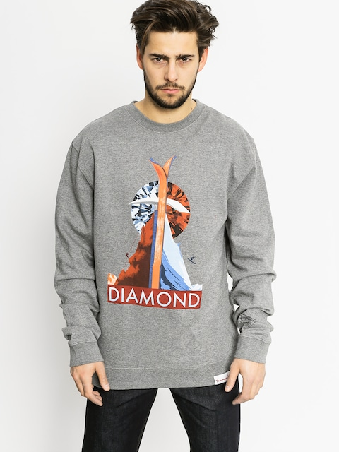 Diamond Supply Co. Sweatshirt Diamond Peak (gunmetal heather)