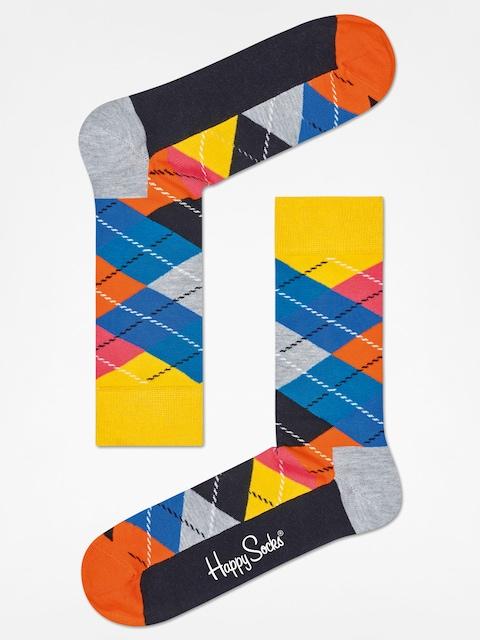 Happy Socks Socks Argyle (yellow/grey/black)