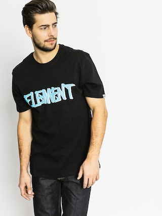 Element T-Shirt Word (flint black)