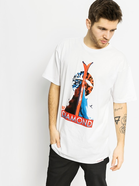 Diamond Supply Co. T-shirt Diamond Peak (white)