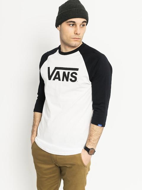 Vans T-Shirt Classic Raglan 3I4 (white/black)